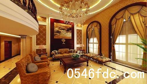 方正设计,6米大开间客厅,彰显主人精致的居住品位.