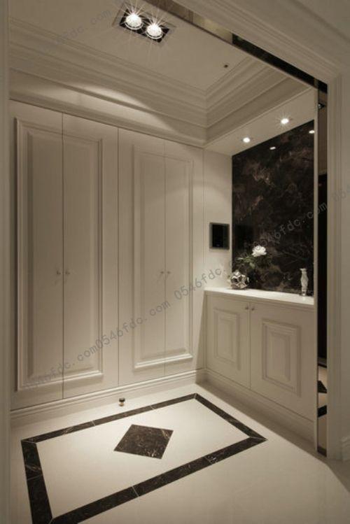 小戶型玄關裝修 讓你一進門就有家的溫馨的感覺