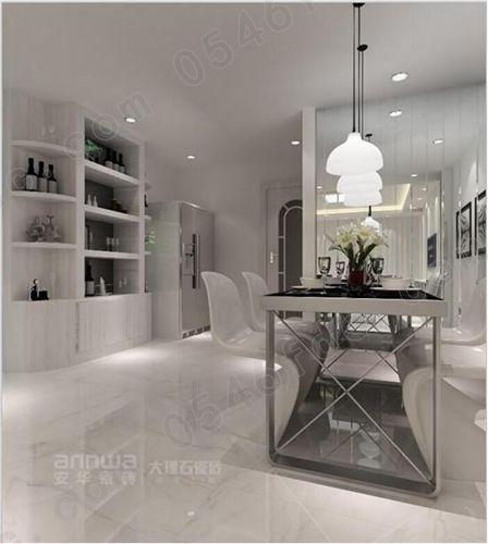 安华瓷砖爵士白效果图图片