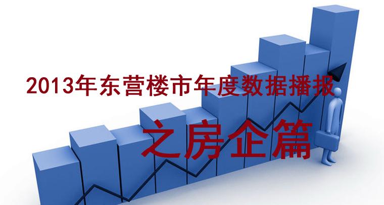 2013年东营楼市年度数据播报之房企篇