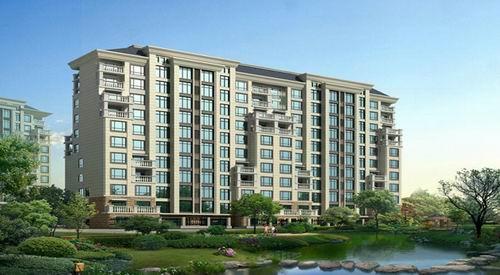 高层住宅不仅视野广阔,而且透出一种高尚的成就感.