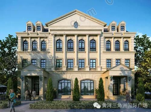 古典欧式建筑风格 传承百年企业辉煌   欧洲古典主义的建筑风格