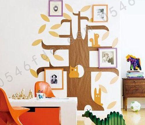 妙招三:手绘墙面创意足