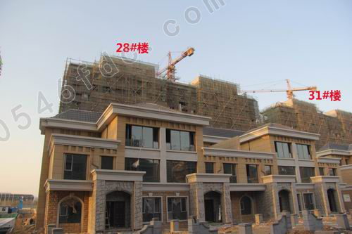 别墅丽苑124-198含量工程安装中3.2m洋房大海抢购单方管道电梯天津极致图片