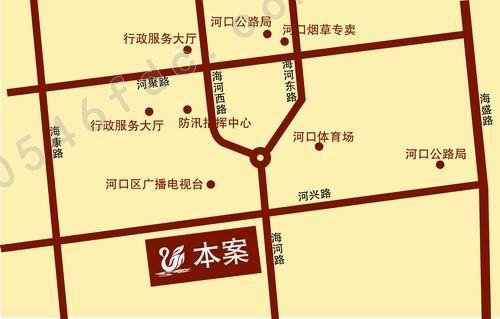 山东东营河口地图