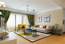 房屋装饰技巧之墙面与地板色彩搭配美图