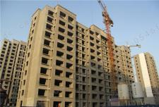 【众成禧园】楼栋封顶 内部施工正在进行时