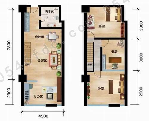 【大海银座广场】loft公寓 精英阶层双层生活理想