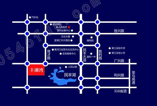 【平安丰湖湾】项目区位图
