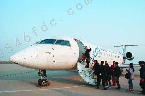 北京-东营-宁波 大连-东营-武汉航班开通了