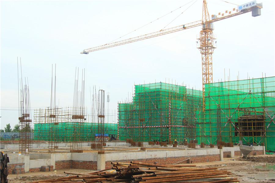 【鑫都西湖湾】8月工程进度:别墅主体将呈现
