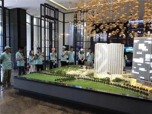 【东营富力盛悦府】2017东营媒体北京行 参观通州富力中心