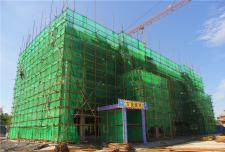 水城庄园文景城:8月工程进度 叠拼建至四层