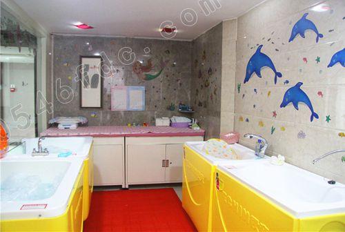 婴儿游泳区、婴儿SPA区