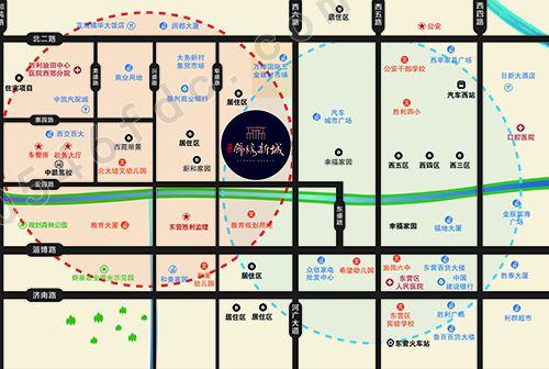【祥泰锦绣新城】区位图