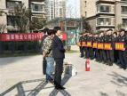 2017年广饶贵和苑物业积极开展消防演练