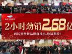 【鑫都西湖湾】小高层11.4开盘售罄 2小时劲销2.68亿