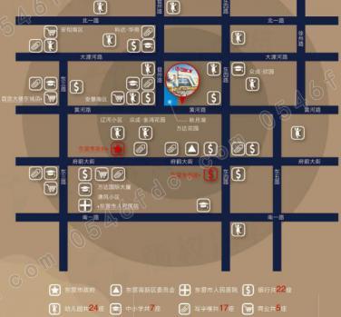 【东城万达城市广场】区位图