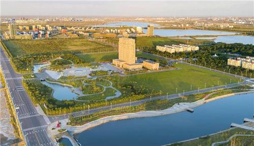 美丽的东营港经济开发区风景