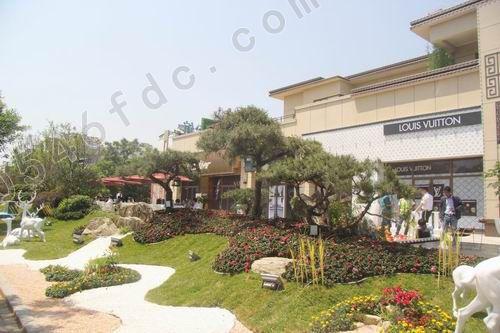 广饶碧桂园中央公馆七重立体景观园林实景图