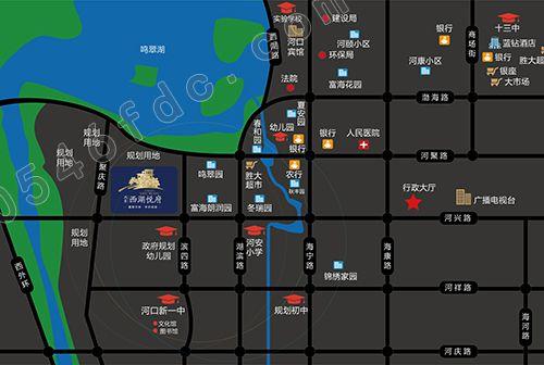 【鸿景西湖悦府】区位图