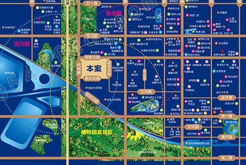 【海通蔚蓝郡】区位图
