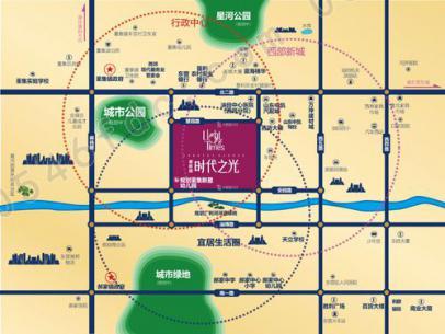 【东营碧桂园时代之光】区位图