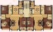 悦辰国际【悦辰国际】三室洋房户型图