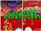 东营东城优质楼盘与您共度2019元宵佳节