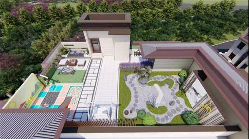 空中花園效果圖