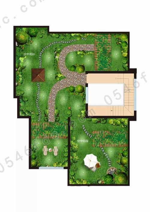 空中花园平面图