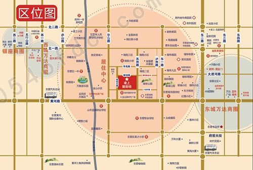 【凌上新街坊】项目区位图