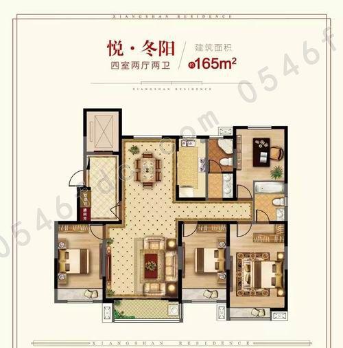 【鑫都香山悦】123-165㎡精奢户型均价8600元/㎡!
