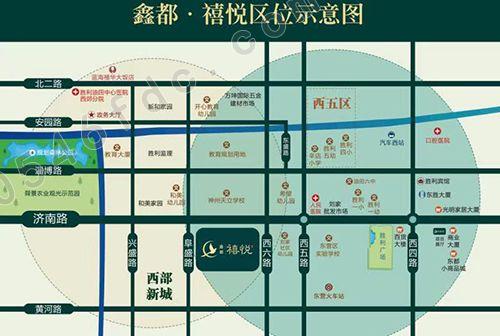 【鑫都禧悦】项目区位图