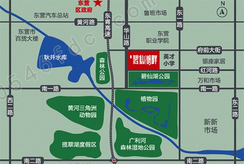 【海通碧仙湖畔】项目区位图