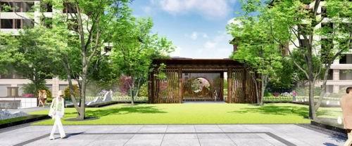 孩子素材都在山水景观,树阵主题,草坪模板儿童,父母禅意广场.新中式毕业设计PPT乐园阳光图片