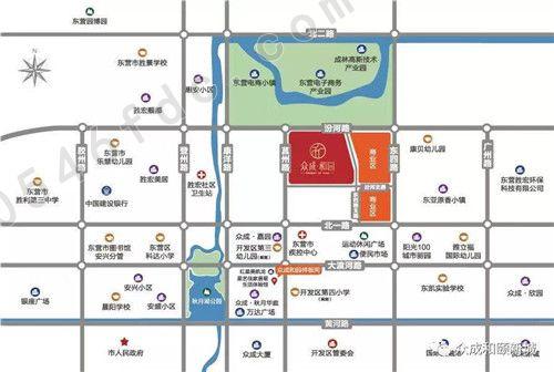 【众成和园】项目区位图