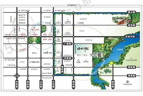 【广饶梧桐印象二期】区位图
