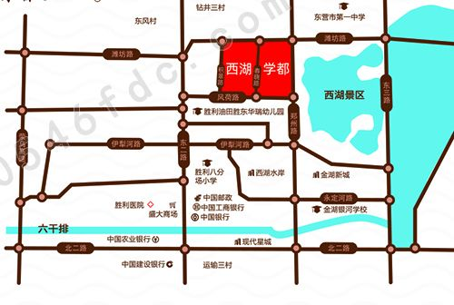 【金辰西湖学都】项目区位图