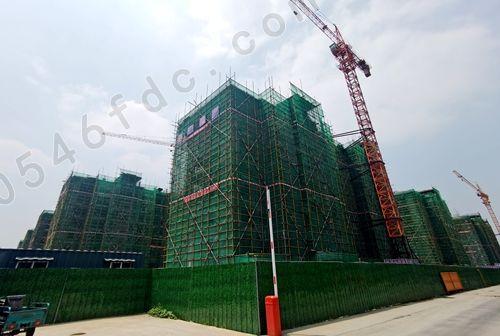 广饶湖东新城6#楼工程实景