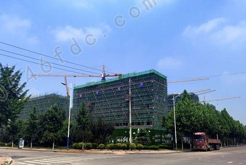 广饶湖东新城1#、20#、21#楼工程实景