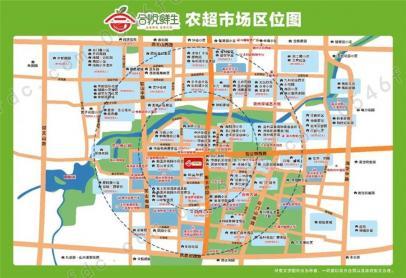【青州和悦鲜生】项目区位图