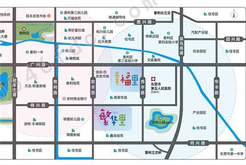 【城投幸福里】项目区位图