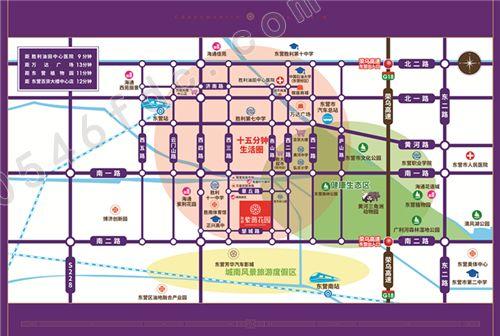 【海通紫薇花园】项目区位图