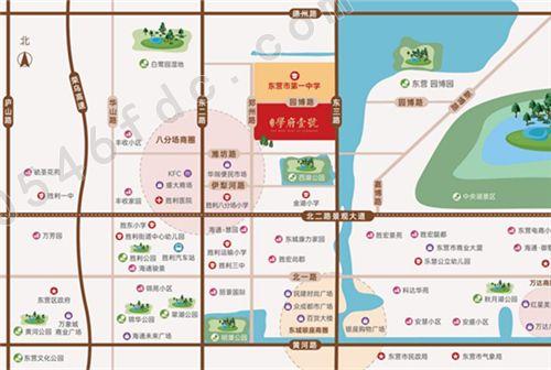 【海通学府壹号】项目区位图