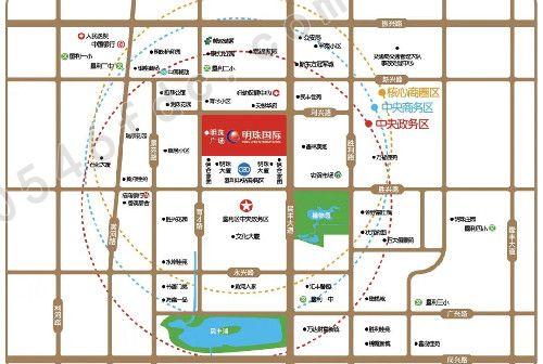 【垦利明珠国际】项目区位图