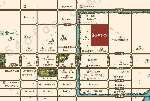 【广饶东府大院】项目区位图