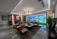 凯泽翡翠澜庭145㎡四室两厅两卫样板间