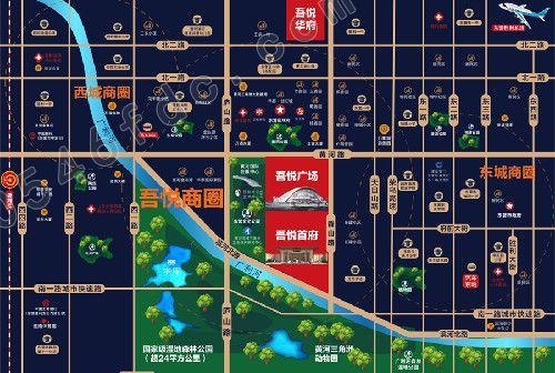 【东营吾悦广场】项目区位图