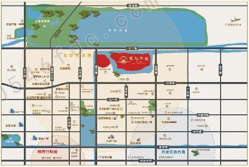 【东营悦岛华庭】项目区位图